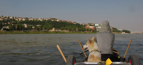 Team Cold-Nose erreicht Bratislava.